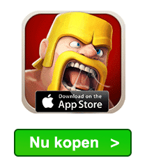 Clash of Clans edelstenen kopen in iTunes