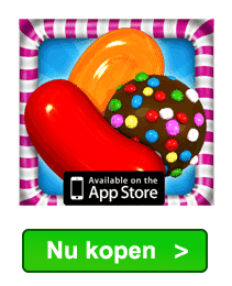 Candy Crush goudstaven kopen in iTunes