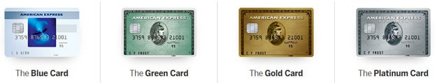 American Express charge cards
