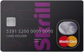 Dit is de Skrill Card.
